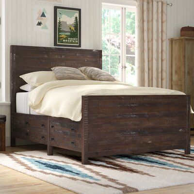 San Anselmo Storage Platform Bed Size: California King