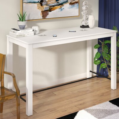 arienne Pub Table Color: White