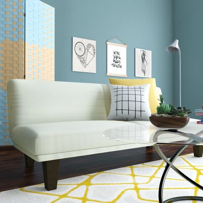 Bianca Convertible Sofa Upholstery: White