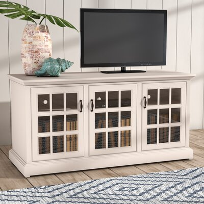 Dartmouth 65 TV Stand Color: Soft White