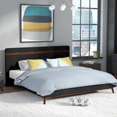 Arielle Upholstered Platform Bed Size: Queen