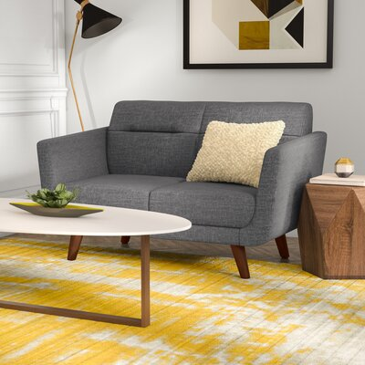Magic Loveseat Upholstery: Gray