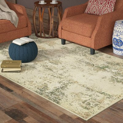 Kentville Beige Area Rug Rug Size: Rectangle 9 x 12