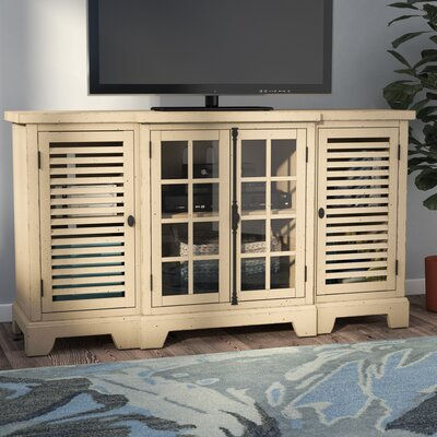 Gardner 64 TV Stand Color: Cream