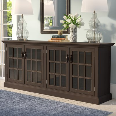 Dartmouth Traditional TV Stand Color: Chocolate Mousse