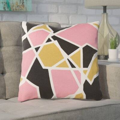 Carnes Cotton Throw Pillow