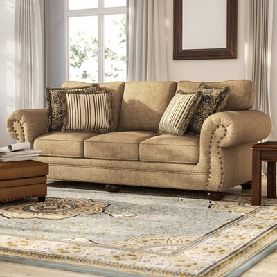Channahon Simmons Stuart Sofa Upholstery Color: Tan