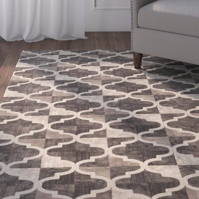 Norwich Brown Area Rug Rug Size: 53 x 73
