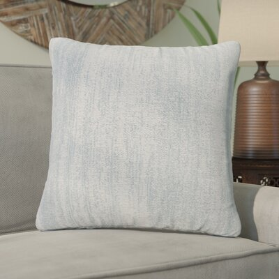 Durante Throw Pillow Size: 26 H x 26 W x 6 D, Color: Tranquil Mist