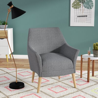 Blythe Armchair Upholstery: Gray