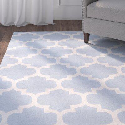 Blaisdell Blue Geometric Stella Area Rug Rug Size: 4 x 6
