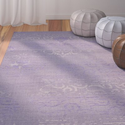 Port Laguerre Purple Area Rug Rug Size: 8 x 11