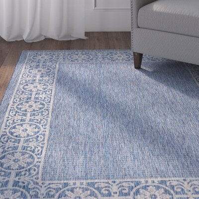 Cochrane Denim Indoor/Outdoor Area Rug Rug Size: 710 x 106