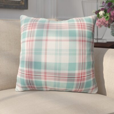 Belliere Plaid Indoor/Outdoor Square Throw Pillow Size: 26 H x 26 W x 4 D