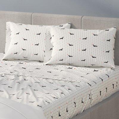200 Thread Count 100% Cotton Sheet Set Size: Queen