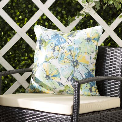 Alsace Penelope Indoor/Outdoor Throw Pillow Size: 18 W x 18 D