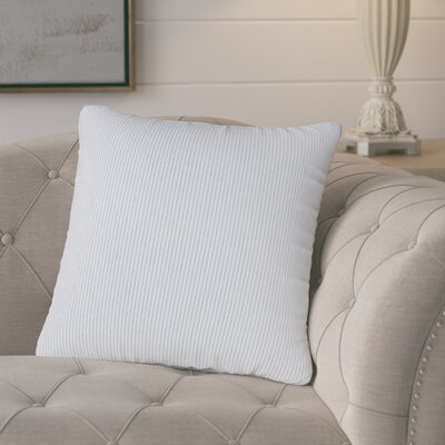 Buttercup Throw Pillow Size: 20 H x 20 W x 6 D, Color: Blue