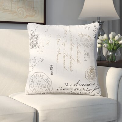 Erdmann Square Throw Pillow Size: 16 H x 16 W x 6 D