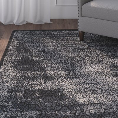 Bluff Canyon Navy Area Rug Rug Size: 9 x 12