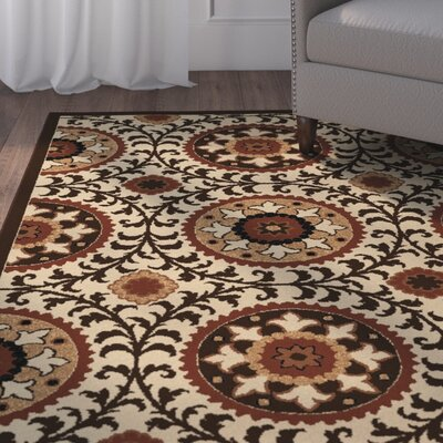 Barkbridge Mandalay Brown/Beige Area Rug