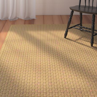 Camella Hand Woven Brown Indoor/Outdoor Area Rug Rug Size: Rectangle 4 x 6