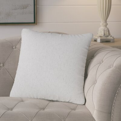 Buttercup Throw Pillow Size: 20 H x 20 W x 6 D, Color: Beige