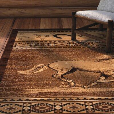 Idris Berber Indoor Area Rug Rug Size: 77 x 106
