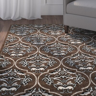 Bloomingdale Brown Area Rug Rug Size: Rectangle 5 x 7