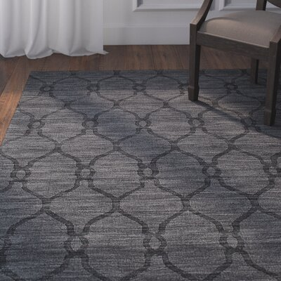 Scribner Wool Charcoal Area Rug