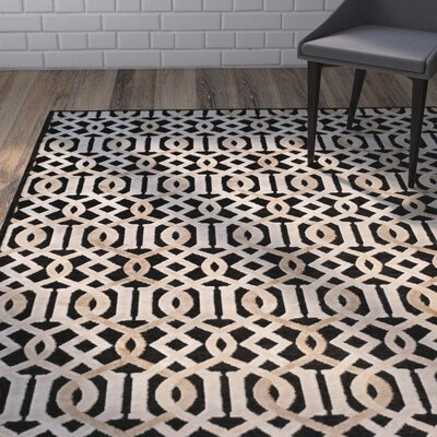 Van Wyck Brown Area Rug Rug Size: Rectangle 67 x 96