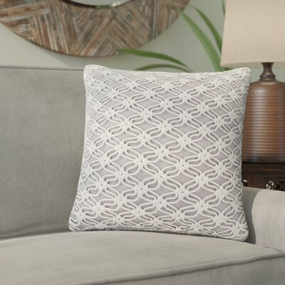 Candelaria Accent Indoor/Outdoor Macrame Throw Pillow
