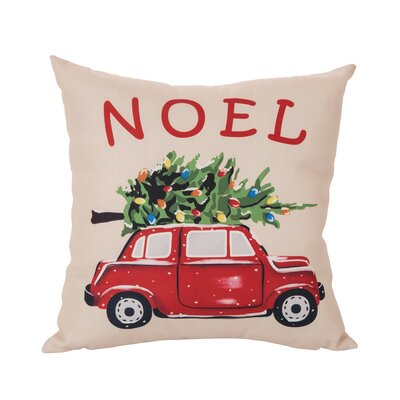 Noel Car Pillow Cover