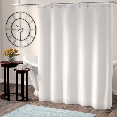 Berning Shower Curtain Liner Color: White