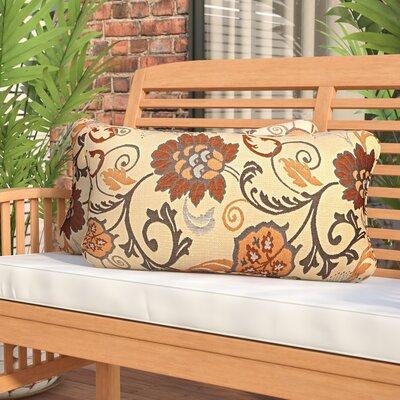 Elita Outdoor Sunbrella Lumbar Pillow Size: 12 H x 24 W