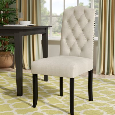 Murray Dining Chair Upholstery Color: Khaki