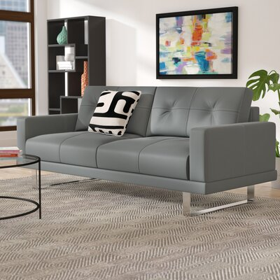 Barbagallo Sofa Upholstery: Gray