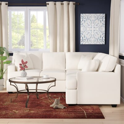 Cobb Reversible Sectional Orientation: Right Hand Facing, Upholstery: Conversation Ivory