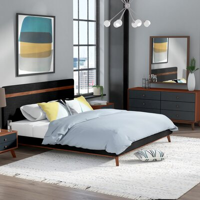 Lani Platform 5 Piece Bedroom Set Size: Queen