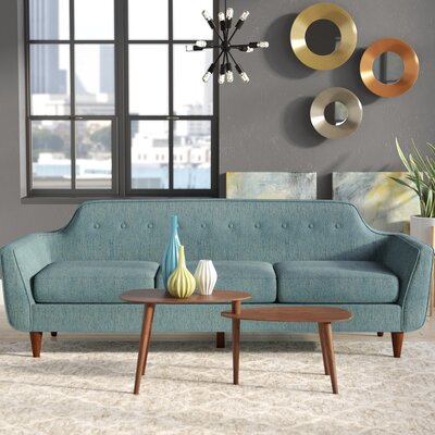 Ewing Sofa Upholstery: Teal