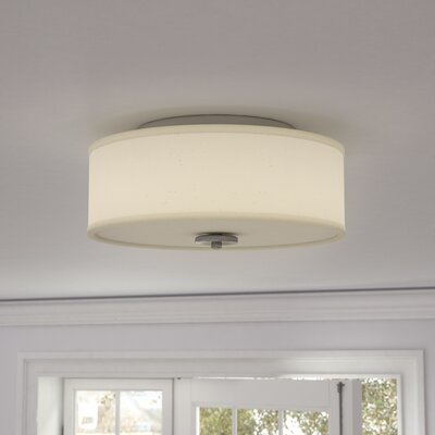 Greenwell 1-Light LED Flush Mount Finish: Brushed Nickel