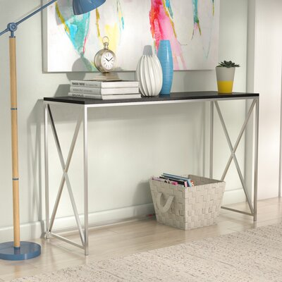 Carrollton Console Table Finish: Weathered Gray