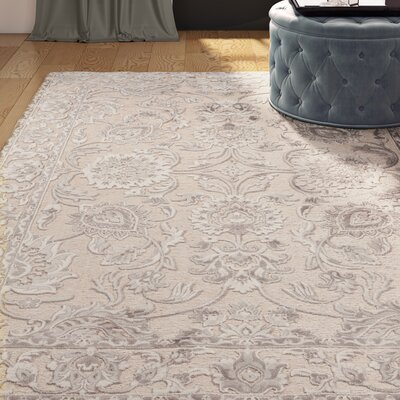 Upham Khaki Area Rug Size: Rectangle 76 x 106
