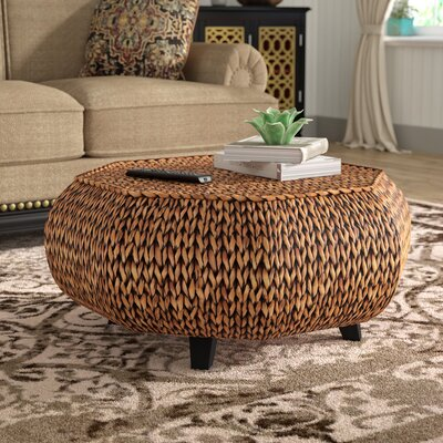 Dimitri Octagonal Coffee Table Color: Gold