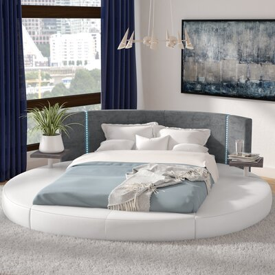 Clower Upholstered Platform Bed Size: California King
