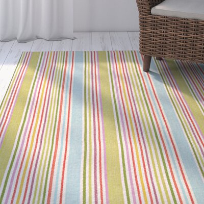 Artique Hand-Woven Popsicle Area Rug Rug Size: Runner 23 x 8