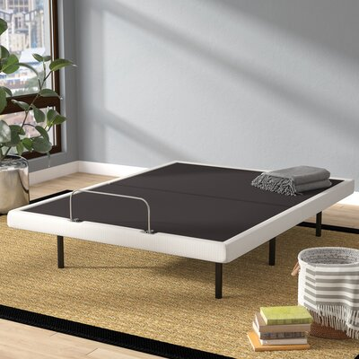Dunellon Adjustable Base Bed Frame Size: Queen
