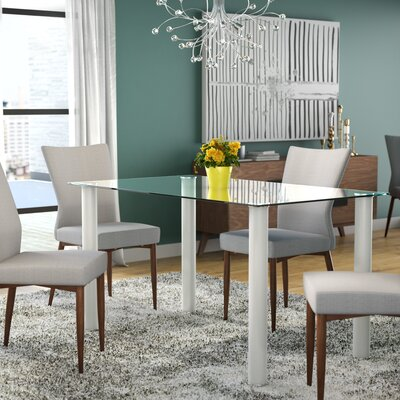 Aubree Dining Table Finish: White