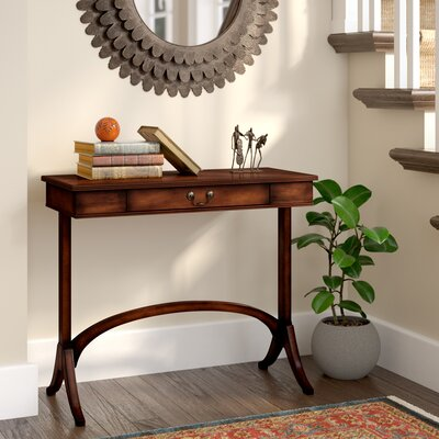 Dyann Console Table Finish: Plantation Cherry