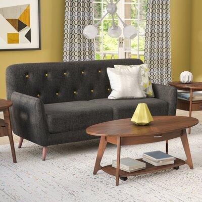 Morgana Sofa Upholstery: Charcoal