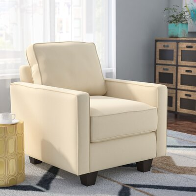 Serta Upholstery Liadan Armchair Color: Graham Cream / Graffiti Nightlight